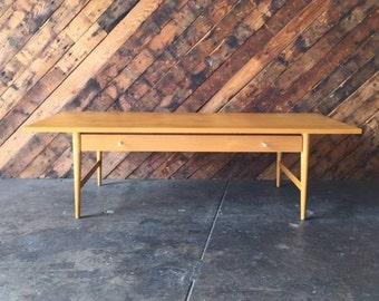 Paul McCobb Mid Century Maple Coffee Table