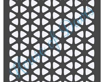 Hexagon Stencil - 12x12