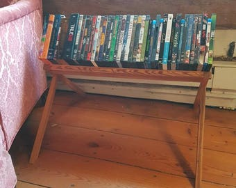 Reclaimed Fir Movie Stand