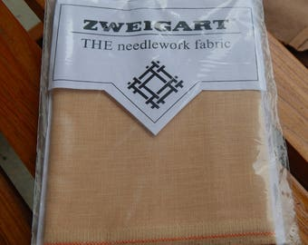 Zweigart 40 ct. Sand Newcastle Linen (1/8th yard pricing)