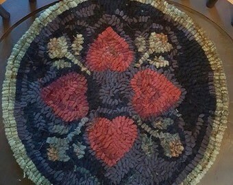 Four Hearts Chair Pad