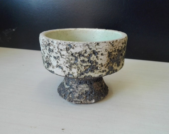Birch Bark pattern flower pot