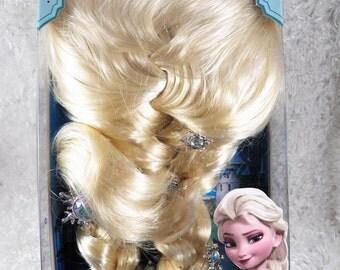 Frozen Queen Elsa Wig, Disney Princess Wig, Elsa the Snow Queen, cosplay wig