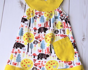 ORGANIC Toddler Dress 1/2T