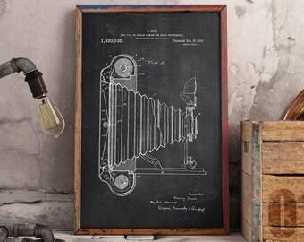 Film Camera Patent, Vintage Camera Print, Camera Poster, Studio Decor, Patent Poster - DA0779