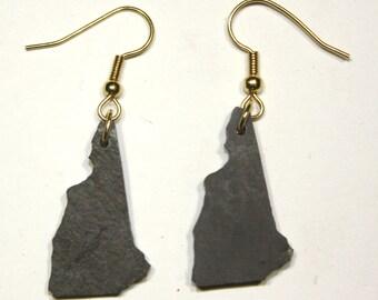 New Hampshire Slate Earrings