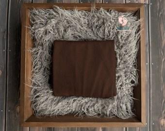 Chocolate Beanbag Fabric,Newborn Backdrop,Newborn Photography,Newborn Photo Prop,Posing Fabric,Photography Backdrop,Backdrop,Fabric Backdrop