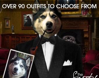 DOG PORTRAIT –Dog Print, Dog Portrait Custom, Pet Portraits, Custom Pet Portraits, Dog Art, Pet Portraits From Photo, Custom Dog Portraits
