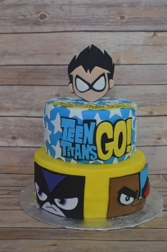 Teen Titans Go Cake Decorating Kit
