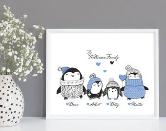 Family Tree Print | Custom Family Tree | Personalised Gift | Family Tree Gift | Personalised Family Gift | Anniversary Gift | Family Name