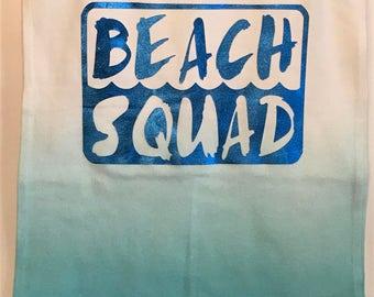 Beach Squad Ombre tank
