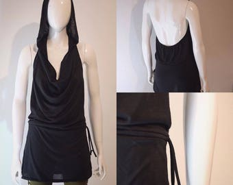 Free Flow Dress, hippie dress, pixie dress, gypsy dress, festival clothes, trance wear, open back dress, goa, goa dress, boho dress,