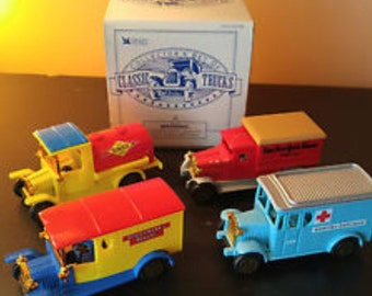 Reader's Digest Collector's Set of Classic Trucks  1970's