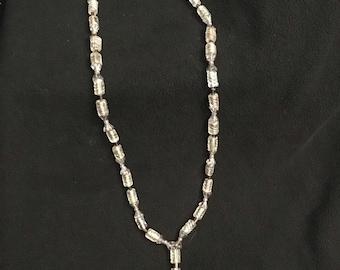 Light Purple Beaded Necklace