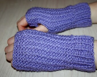 Knit pattern glove Etsy