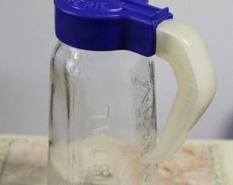Anisette Crystal pitcher