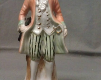 Made in Occupied Japan Victorian Man Figurine