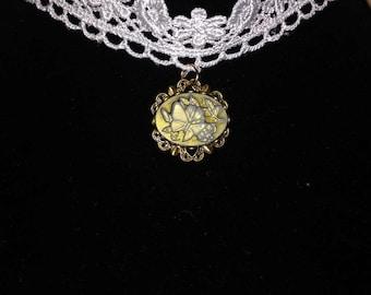 Child sized Victorian/Steampunk necklace.