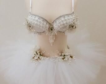 Princess White, White Wonderland, Winter Wonderland, Holliday Bra, Winter Lingerie