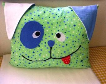 Childs pillow /dog face