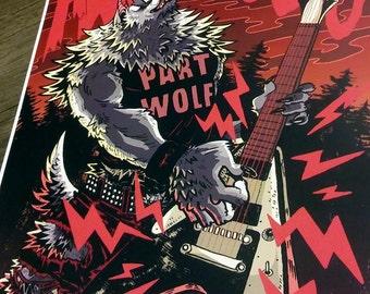 Savage Werewolf Print