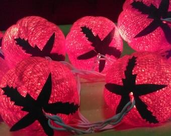 20 Bulbs  set tomato Cotton ball  String lights   Decor Wedding,Bedroom,Patio Home Decoration