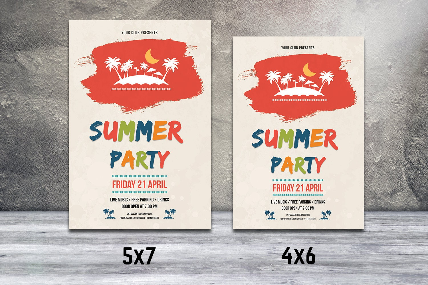 Items similar to Christmas Invitations Template – Christmas Party Tickets Templates