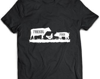 Vegan Tshirt, Vegan Clothing, Vegan Gift, Vegan Top, Vegan Apparel