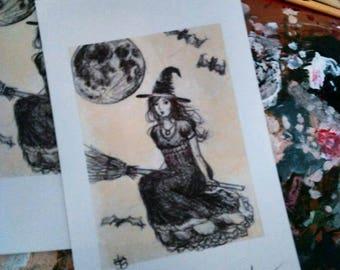 The rebirth fine art print