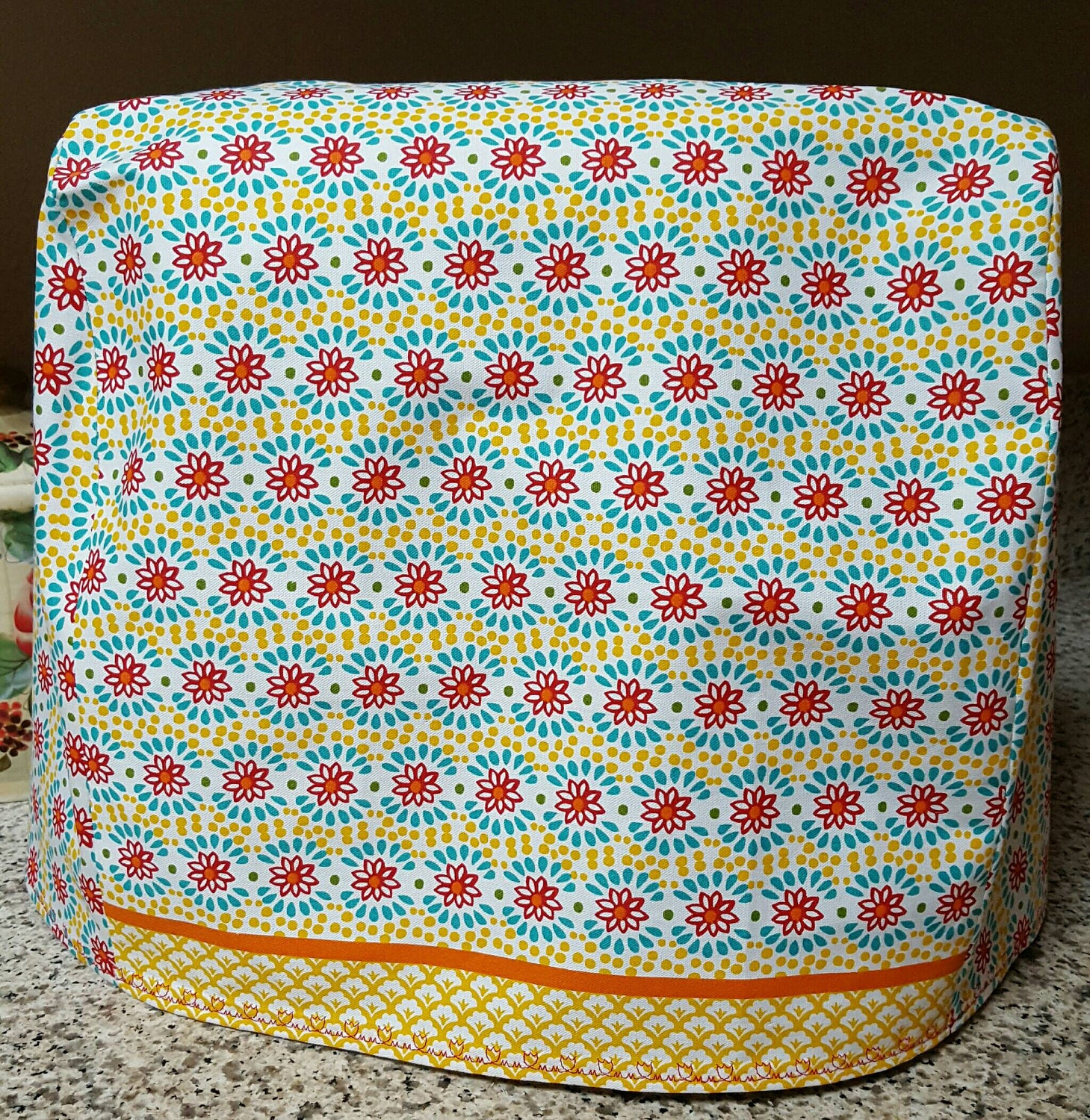 Handmade Simple Fabric Mixer Cover Pioneer Woman Mixer