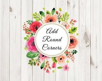 Add Round Corners