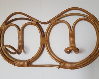 coat hook Wicker / rattan