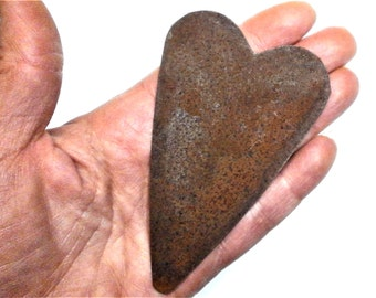 1 Large Rusty Tin Primitive Heart, Rusty Tin, Wreath Making, Prim Heart, Home Crafts,  Primitive Supplies, Tin Heart, Rustic Heart, Heart