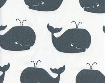 Charcoal whales dandelions Crib Fitted Sheet or  changing mat cover, crib bedding, bee, neutral, bumble bee