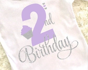2nd Birthday shirt, second birthday shirt, 2nd birthday shirt for girls, birthday shirt, birthday shirt for girls, 2nd birthday outfit