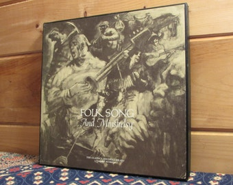 Folk Song And Minstrelsy - 33 1/3 Vinyl Record Set