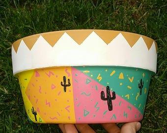 80s Cactus Planter