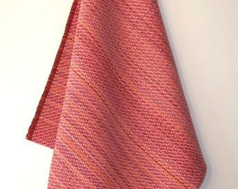 Handwoven kitchen-towel.  Cotton / Linen
