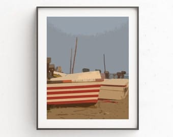 Nautical Wall Poster, Nautical Decor, Coastal Art, Downloadable Art, Beach  House Decor, Boat Print Art, Nautical Print Art, Wall Poster