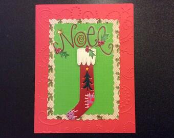 Homemade Card - Noel