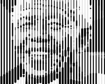 Line Art: Mandela
