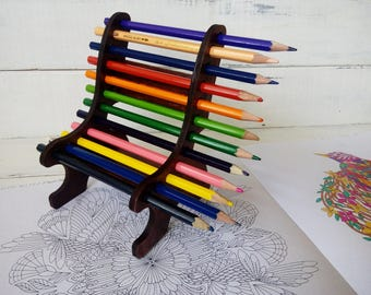 Birthday gift kids Gift for children Thank you gift for coworkers artist Gift for teacher Pencil holder Pencil stand Gift for architect