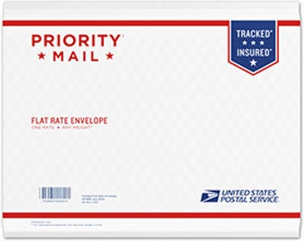 Shipping - priority mail
