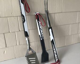 WARRIOR Dynasty Hockey Stick BBQ Tools - 2 Piece Set