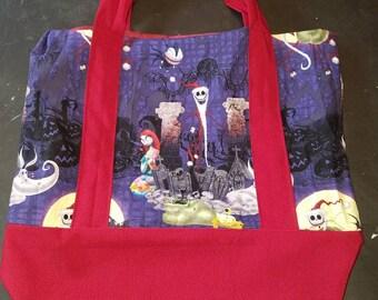 Nightmare Before Christmas Tote Bag