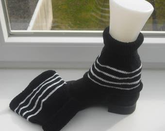 Leg warmers - short gloves - leggings - leg warmers - insert warmer - cuffs - handmade