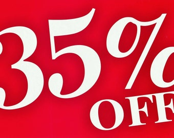 Summer Sale 35% off your order over 100.00 today only