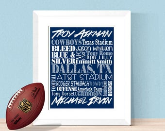 Dallas cowboys decor Etsy