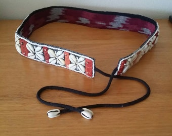 Womens Shell Boho Hippie Belt