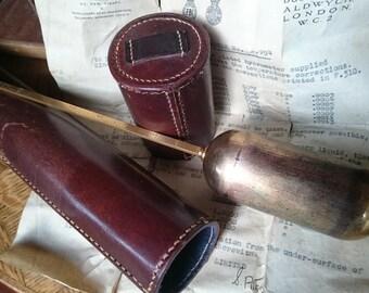 Vintage Hydrometer in Leather case
